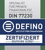 DEFINO_Pruefsiegel_Spezialist_77230_bis-2021-vertikal_breite_147px